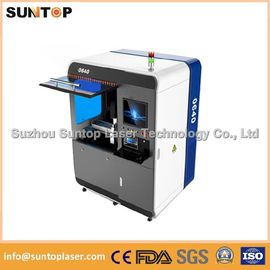 Chiny Small size metal laser cutting machine , Fiber laser cutting equipment dostawca