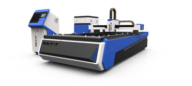 Chiny 500W CNC fiber laser cutter for steel , brass and Alumnium industry processing dostawca