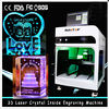 Chiny 3D Crystal Laser Inner Engraving Machine 2000HZ speed 120,000 dots / Minute firma