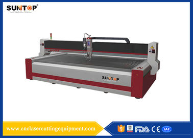Chiny 37KW CNC Water Jet cutting machine 1500*3000mm FDA for glass fabryka