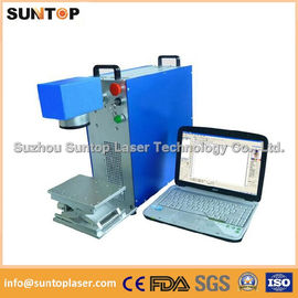 Chiny Gears portable fiber laser marking machine small portable model dystrybutor