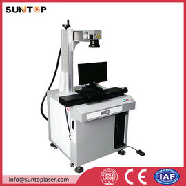 Chiny Bath room and kitchen products fiber laser marking machine with laser power 20W fabryka
