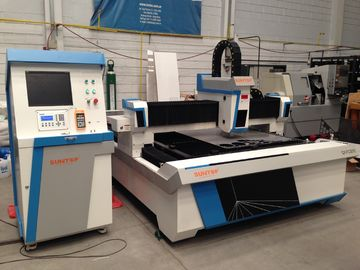 Chiny Electrical cabinet Stainless steel laser cutting machine with laser power 800W fabryka