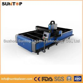 Chiny Stainless steel and mild steel CNC fiber laser cutting machine with laser power 1000W fabryka