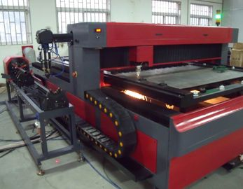 Chiny Metal Pipe and Round Tube 650 Watt  YAG Laser Cutting Machine for Metal Structure fabryka