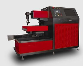 Chiny Small Breadth YAG Laser Cutter for Metal Laser Cutting Industry , Three Phase 380V / 50Hz dystrybutor