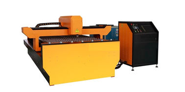 Chiny Galvanized Steel YAG Laser Cutting Machine , Laser Power 650W for Advertising Trademark dystrybutor