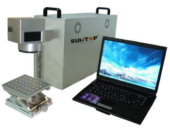 Chiny Portable Fiber Laser Marking Machine , Fiber Laser Etching Machine for Metal / Plastic fabryka