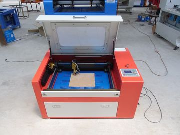Chiny 45w Co2 Laser Cutting Engraving Machine For Art Work Industry , Laser Cut Acrylic Jewelry fabryka