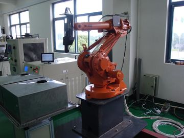 Chiny CE & ISO 9001 Robot Jewelry Laser Welder With Abb Robot Arm For Automatic Welding dystrybutor