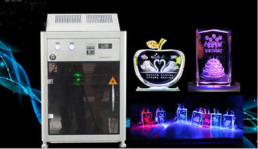 Chiny 4000HZ 3D Crystal Laser Inner Engraving Machine 220,000 dots / Minute Speed fabryka